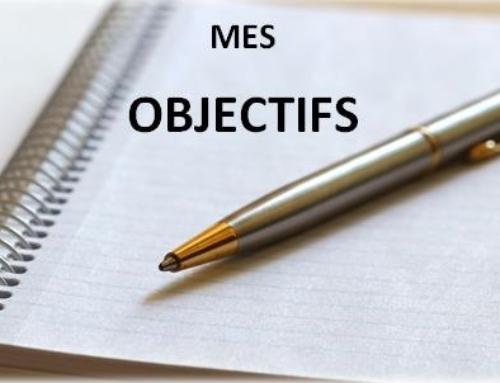 OBJECTIFS 2018 !